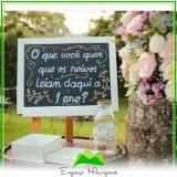 sítio para casamento ao ar livre