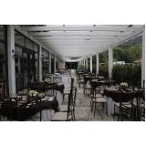 valor de buffet casamento ao ar livre Vila Maria