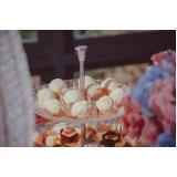 valor de buffet para festa de bodas de casamento Ponte Rasa