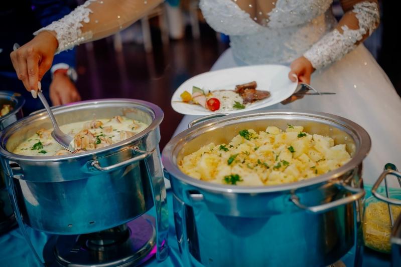 Valor de Buffet Chique para Casamento Nossa Senhora do Ó - Buffet de Festa de Casamento